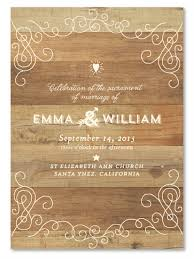 wedding programs rustic rustic wedding programs on wood premium paper back