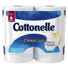 amazon com cottonelle clean care toilet paper double roll 4