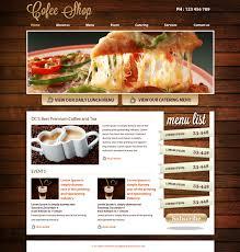 food templates free download psd web templates
