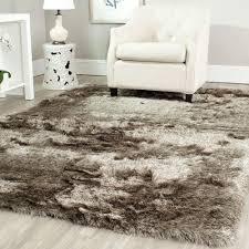 Rug In Living Room Safavieh Paris Shag Sable 8 Ft X 10 Ft Area Rug Sg511 9292 8