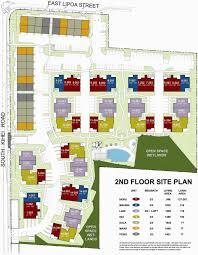 Pono Kai Resort Floor Plans by Kai Ani Village The Kihei South Maui Hawaii State Condo Guide Com