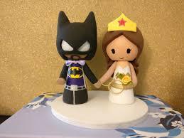 batman wedding topper batman wedding cake awesome batman and woman cake topper
