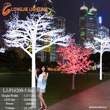 16200 white artificial big tree snowing tree lights led