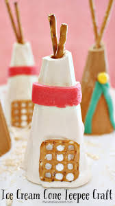 thanksgiving things celebrate thanksgiving with an ice cream cone craft
