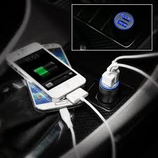 Car Charger With Usb Ports Car Charger Eleckey 4 8a Dual Usb Port Car Charger Portable