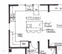 large kitchen floor plans inspirational sle kitchen floor plans floor plan exle small
