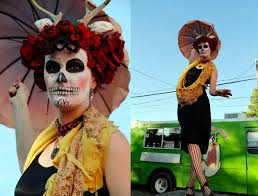 Sugar Skull Halloween Costumes 64 27 Dead Images Dead
