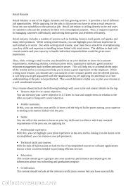 What Is The Summary In A Resume Summary For Resume Retail Free Resume Example And Writing Download