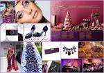 Inspiration Boards} BWB Colours Of The Rainbow - Purple - Asian ... asianweddingideas.co.uk