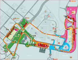 Map Formula Unofficial Singapore F1 Singapore Grand Prix Circuit Map