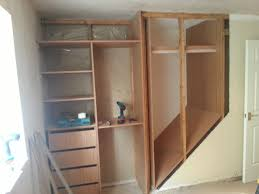 Wardrobe Shelving Systems by Bedroom Wardrobe Storage Systems Home Design Ideas