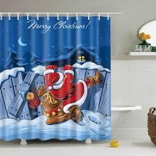 Curtain In Bathroom 193 Best Holiday Curtain Images On Pinterest Shower Curtains