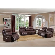 Leather Power Reclining Loveseat Sanford Top Grain Leather Power Reclining Loveseat With Power
