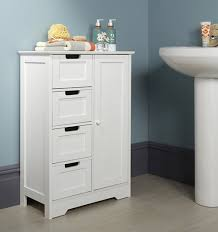 Shaker Style Bathroom Cabinet by Shaker Style Cupboard Unit With 4 Drawers Bathroom Storage