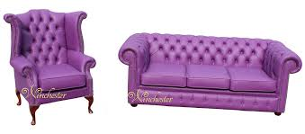 purple leather chesterfield sofa memsaheb net