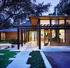 Brualist by Midcentury Exterior Austin By Webber Studio Architects