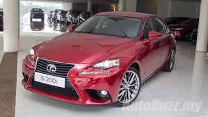 toyota lexus malaysia sale 2015 lexus is launched in malaysia with new 2 0 litre turbo