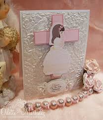 1st Holy Communion Invitation Cards Handmade By Odette Handmade Odette Pinterest Communion