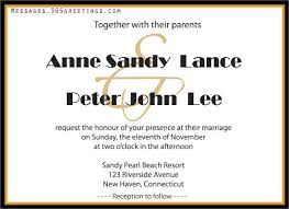 wedding invitations messages wedding invitation wording 365greetings