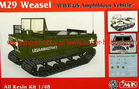 amphibious vehicle m29 weasel us amphibious vehicle cmk 8049