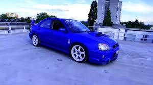 2001 subaru impreza wrx sti gdb 6 speed for sale subaru impreza subaru impreza 2 0 wrx sti wrc turbo gd b e blue walkaround