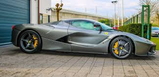 grey ferrari laferrari grigio ferro grey for sale cars