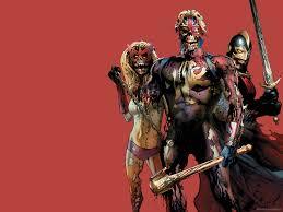 badass halloween background marvel zombies halloween wallpaper marvel zombies suydam