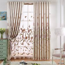 Pattern Drapes Curtains Beautiful Drapes And Curtains In Beige Color With Flower Patterns