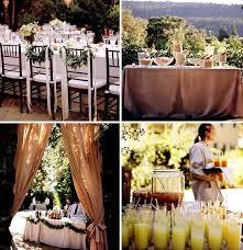 food tables at wedding reception backyard wedding ideas romantic decoration