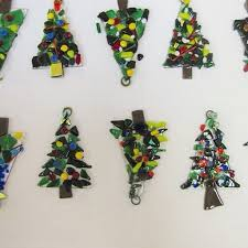 family workshop merry bright glass fusion ornaments
