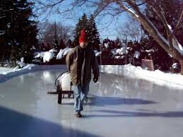 Backyard Ice Rink Tips Backyard Rink Youtube
