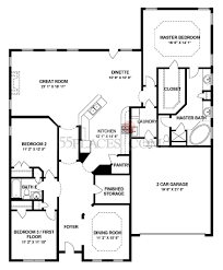 ocean breeze floorplan 2193 sq ft the villages at two rivers