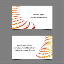 simple business card layout download at vectorportal