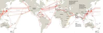 Undersea Cable Map Around The World In Submarine Internet Cable Musings On Maps