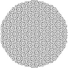 diffraction pattern of a penrose tiling fun with phi pinterest