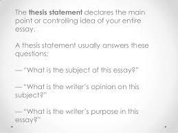 topic proposal thesis statement SEC LINE Temizlik