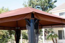 Gazebo Awning Gym Equipment Outdoor 10 U0027 X 12 U0027 Backyard Garden Awnings Patio