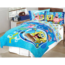 Spongebob Bedding Sets Spongebob Comforter Set With Bonus Walmart