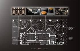 ekaterina nazarova design studio portfolio sky bar sky bar floor plan