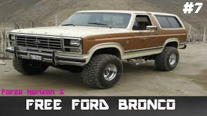 bronco trophy truck forza horizon 3 lets play part 7 free ford bronco youtube