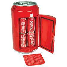 koolatron coca cola 8 can portable 12v mini fridge for car boat