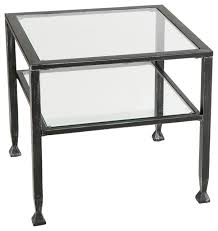 Industrial Accent Table with Accent Coffee Table