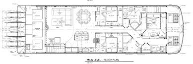 Pontoon Boat Floor Plans by Surprising Inspiration 4 Houseboats Plans Free Houseboat And