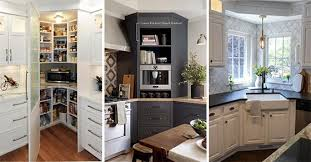 corner kitchen cabinet ideas 20 corner kitchen cabinet ideas kitchen corner units