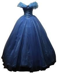 amazon com blue women u0027s cinderella cosplay dress halloween party