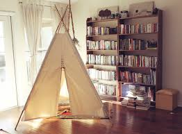 accessories nice teepee for kids in the traditional home