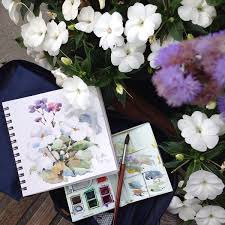 getting started with watercolor sketching