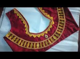 blouse pics easy design blouse cutting and stitching at home 2017