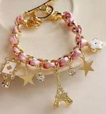 bracelet ladies designs images Sweet eiffel tower design ladies 39 bracelet jpg