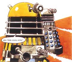 groovy baby doctor who magazine goes retro with free dalek